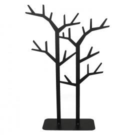 SIMPLY WOOD - boom voor deco hangers - metaal - zwart - M - 30x10xh45 cm