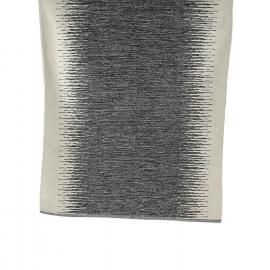 SEQUENCE - tapijt - 100% katoen - zwart/wit - 120x180 cm