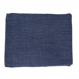 A TAVOLA - tafelkleed - 100% katoen stonewashed - blauw - 260x170 cm