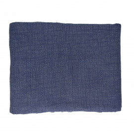 A TAVOLA - tafelkleed - 100% katoen stonewashed - blauw - 310x170 cm