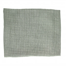 A TAVOLA - tafelkleed - 100% katoen stonewashed - groen - 170x170 cm