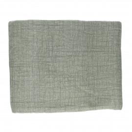 A TAVOLA - tafelkleed - 100% katoen stonewashed - groen - 260x170 cm