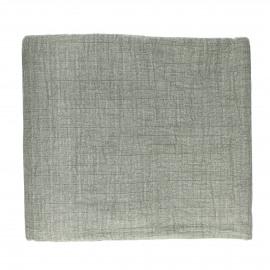 A TAVOLA - tafelkleed - 100% katoen stonewashed - groen - 310x170 cm