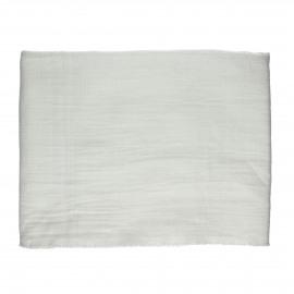 A TAVOLA - tafelkleed - 100% katoen stonewashed - wit - 170x170 cm