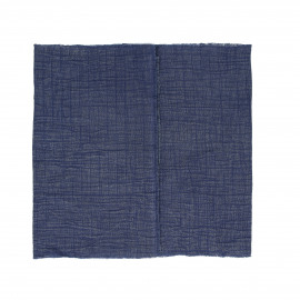 A TAVOLA - table runner - 100% cotton stonewashed - blue - 40x140 cm