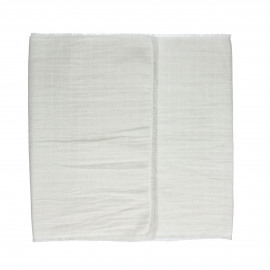 A TAVOLA - set de table - coton - L 140 x W 40 cm - blanc