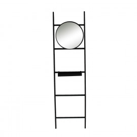 ZEN - Coat rack - metal - black matt - 70x155 cm