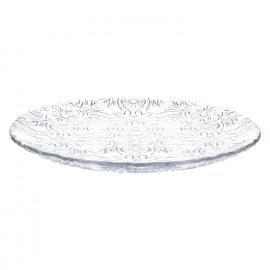 ROMANCE - dessertbord- glas - transparant - dia 21 cm