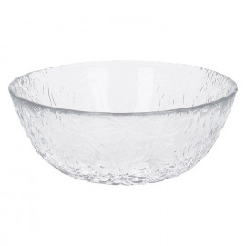ROMANCE - kom - glas - transparant - dia 14 cm