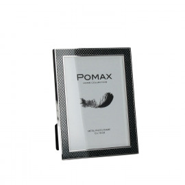 MILANO - Photo frame -zinc alloy/carbon fiber- L - photo 13x18 cm