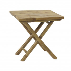 CÂY TRE - coffee table - bamboo - natural - 44x44xh44 cm