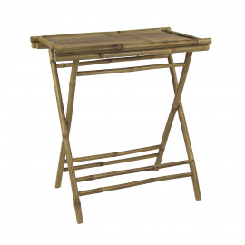 CÂY TRE - buttler tray table - bamboo - natural - 60x40xh76 cm