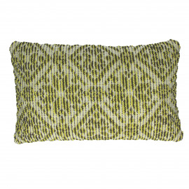 DAISY - deco cushion - 100% cotton - lime - S - 30x50 cm