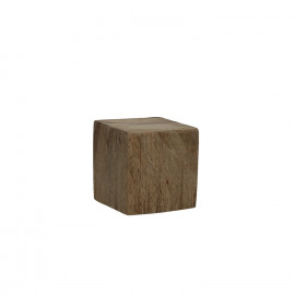 BLOXX - block - solid mango wood - natural - XS - 8x8x8cm