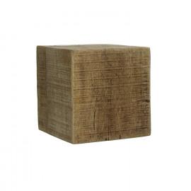 BLOXX - blok - massief mango hout - naturel - L - 20x20xh20 cm