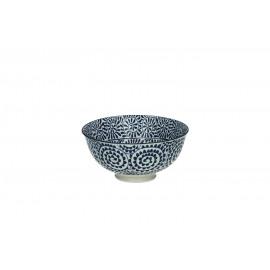 SAIGON LEAVES - kom S - porselein - matt ink - dia 12x6 cm