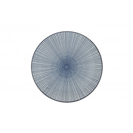 SAIGON - dessertbord - porselein - ink matt - dia 21.5 cm