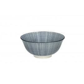 SAIGON - bowl - porcelain - DIA 16 x H 7 cm - blue