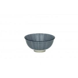 SAIGON - kom S - porselein - ink matt  - dia12x6 cm