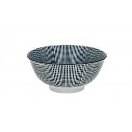 SAIGON - bowl - porcelain - DIA 18 x H 8 cm - blue