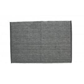 LUX - placemat - katoen met lurex- grijs en zilver - 48x33 cm