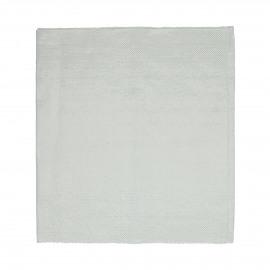 LUX - Chemin de table - coton / lurex - L 150 x W 50 cm - blanc