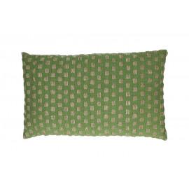 FORREST - deco kussen - 100% katoen - groen - 30x50 cm