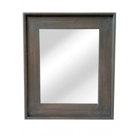 CLASSIC SOFT - mirror - wood - L 58 x H 68 cm - grey