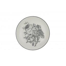 ADELAÏDE - dessert bord - porselein - mat - dia 21.50 cm