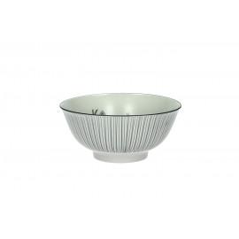 ADELAÏDE - bol GM - porcelaine - mat - dia8x18 cm