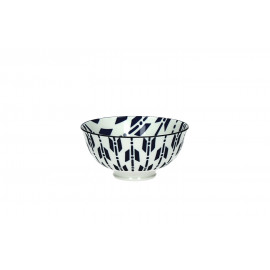 KOTAÏSHI - kom S - porselein - Trad. japans patroon- dia 12x6 cm