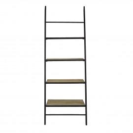 MARIE - shelf - iron/mango wood - 73x43xh198 cm