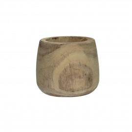 PURE - pot - palownia - naturel - S - Ø14xh13 cm