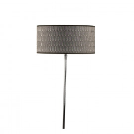 Lampshade CYL 30x30x14 - E 27 -  Beige - Cotton textured