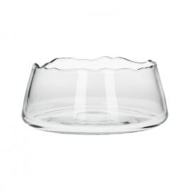 ROSARIO - fruit schaal - glas - helder - S - dia 25x10 cm