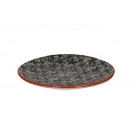 FRIVOLE - dessertbord - Aardewerk - handgeschilderd - dia 23 cm
