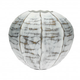 RITA - vaas - polyresin - DIA 25,5 x H 22,5 cm