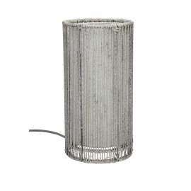 MEISO - table lamp - iron / hemp rope - DIA 16,5 x H 32 cm