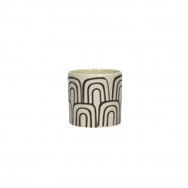 KIGOU - vase - earthenware - DIA 11 x H 11 cm