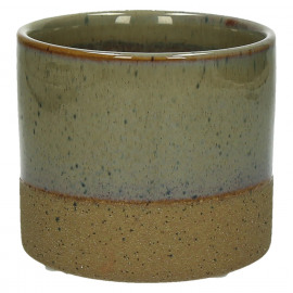 SUNA - composite of sandstone - DIA 11 x H 10 cm - Linen