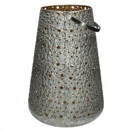 SHINY-Lantern-Metal-Silver-Gold-L- dia 29 x 41 cm