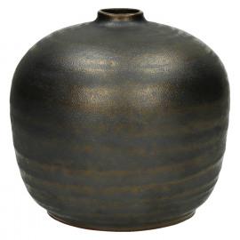 NIKAIA-Vaas-Keramiek-Brons-M-dia 16 x 16 cm