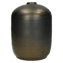 NIKAIA-Vaas-Keramiek-Brons-L-dia 16 x 22 cm