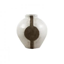 CORINTHE-Vaas-Geëmailleerde keramiek-L- dia 46 x 49.5 cm