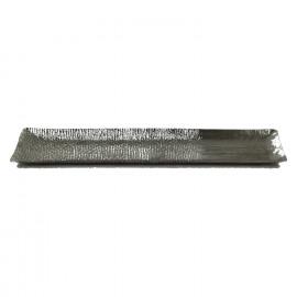 MOON BEAM-Plateau-Aluminium-Zilver-M- 67 x 20 x 3 cm