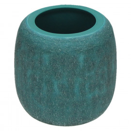 QING-Vase-Glass-Blue-S- dia 9 x 9 cm