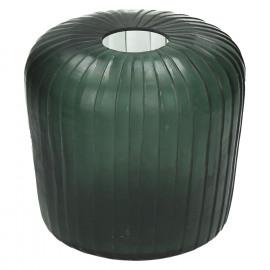 PAN-Vaas-Glas-Groen-M- dia 20 x 19 cm