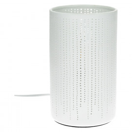 DOTS - table lamp - porcelain - DIA 12 x H 20 cm