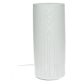DOTS - table lamp - porcelain - DIA 12 x H 28 cm