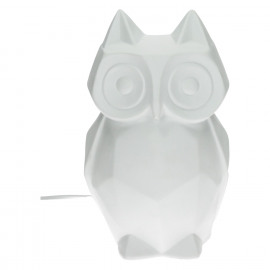 LULU-Owl-Table lamp-E27-Porcelain-14.5 x 14 x 22 cm
